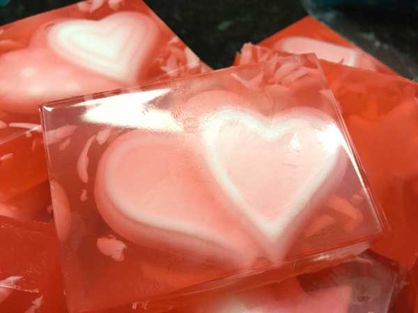 Rose Designer Olive Oil Soap